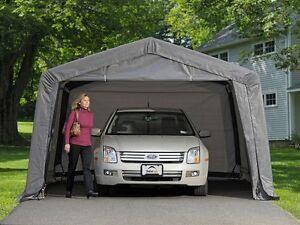 Shelterlogic 12x16x8 Auto Shelter Portable Garage Steel