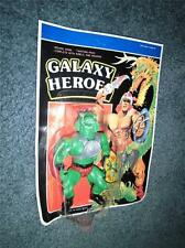 Galaxy Heroes - Snake - 80's - Carded - Warriors - Rare - Excellent Carded Toy