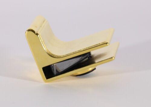 Hettich Porte En Verre Poignée//zinc//plaqué or ou noir//meubles de verre Poignée 0025315