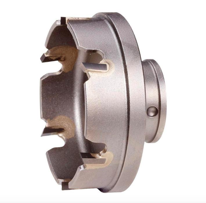 Milwaukee 2-1 8 inch Sheet Metal Hole Saw Cutter Power Tool Carbide Drill Bit