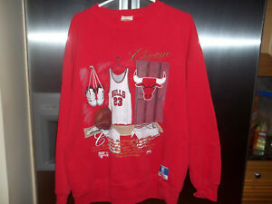 07260d0be906 Image is loading 3-Vintage-90s-Salem-Chicago-Bulls-Tops-Hoodie-