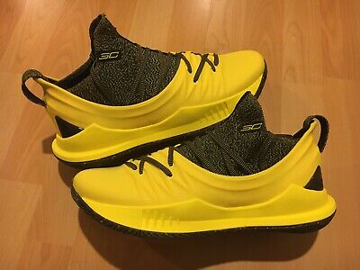 Under Armour Curry 5 Yellow Black PE