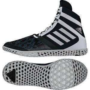 ADIDAS Scarpe VOLANTI IMPACT WRESTLING pompe Black White Sneaker con pompe WRESTLING 1ca6e2
