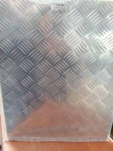 lamiera alluminio chicco di riso 500x400 mm 1 5 ebay