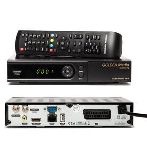 Deutsch-TV-Golden-Media-Wizard-HD-780-Sat-Receiver-LAN-USB-Anschluss-HDTV-bereit