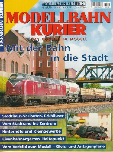 EK Modellbahn Kurier Heft 21 Mit der Bahn in die Stadt Stadthaus Stadtrand