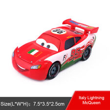 Disney Pixar Cars McQueen Lizzie Sheriff Diecast Toys Model Car 1:55 Kids Gift
