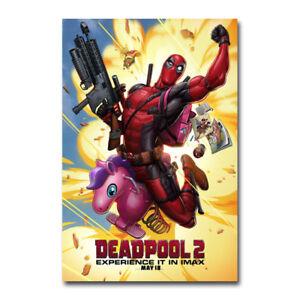 Deadpool 2 2018 Hot Movie Art Silk Canvas Poster 13x20 32x48 inch