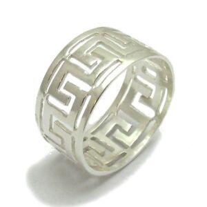 Hospitalier Sterling Silver Ring Solid 925 Méandres Band Taille 4 - 14 Empress R001256-afficher Le Titre D'origine Soulager La Chaleur Et La Soif.