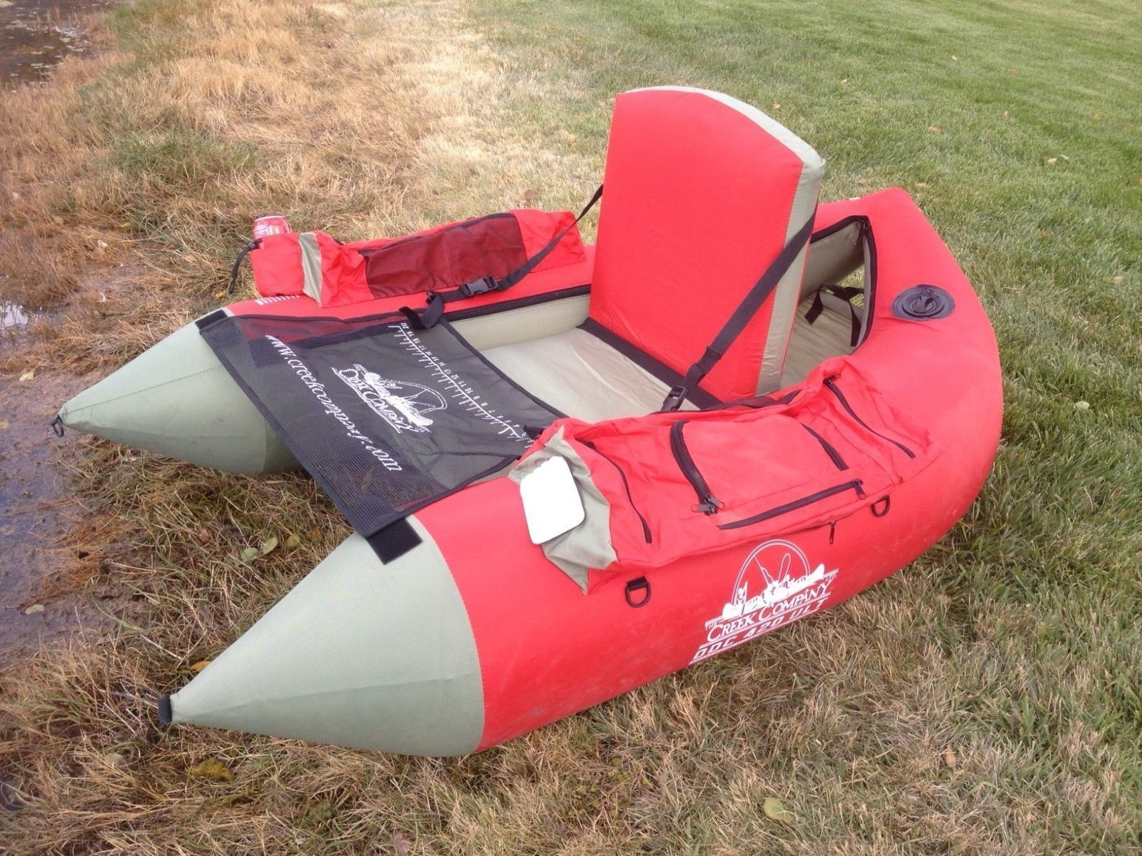New one person  The Creek Company 420 Ultralight Boat  Model 438  w carry storage  exciting promotions