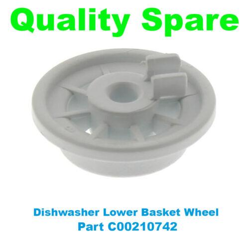 Bosch Qualité Lave-Vaisselle Inférieur Panier rail roue C00210742
