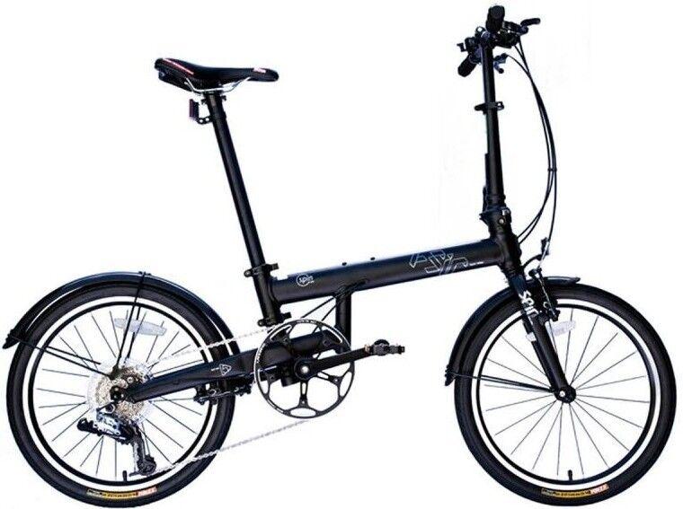 FSIR ALU Klapprad 20  Faltrad Fahrrad 9 Gang SRAM Impuls Technology City black