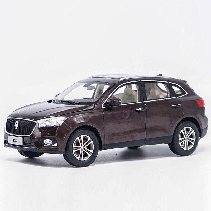 nouveau IN BOX ORIGINAL BORGWARD  BX7 1 18 SCALE marron DIECAST MODEL TOY voiture voitureS  belle