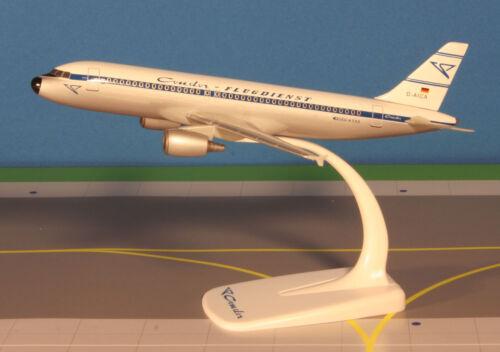 Cóndor retro airbus a320-200 1:200 avión modelo nuevo a320 D-AICA Hans