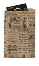 Paper Newsprint Bags 1000 Small News Print Retail Merchandise Gift 6 X 9 High