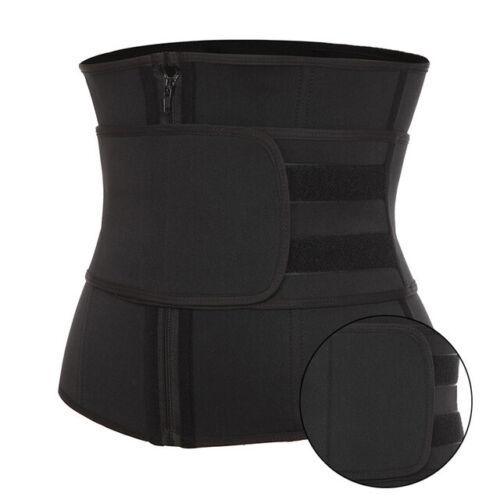 Details about  /Fajas Waist Trainer Cincher Detachable Trimmer Belt For Weight Loss Body Shaper