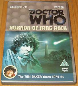 Doctor-Who-DVD-Horror-of-Fang-Rock-Excellent-Condition