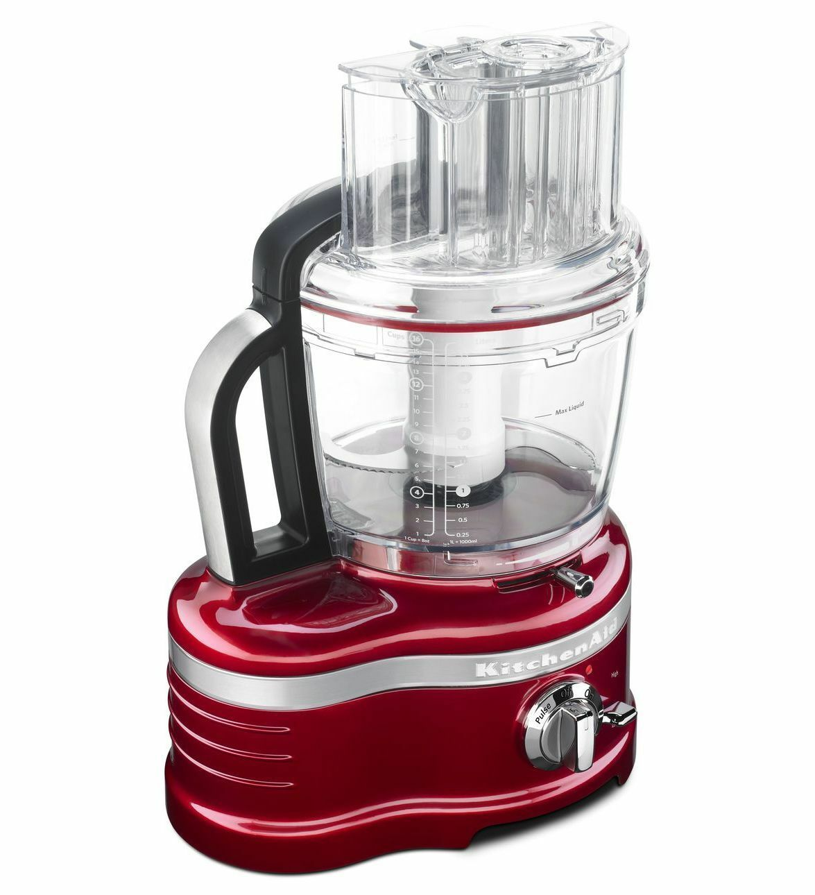 KitchenAid Pro Line 16-Cup Food Processor-Candy Apple rouge