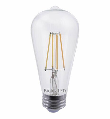 Dimmable Vintage Edison Antique Filament LED Bioluz LED 60W ST64 LED Bulb