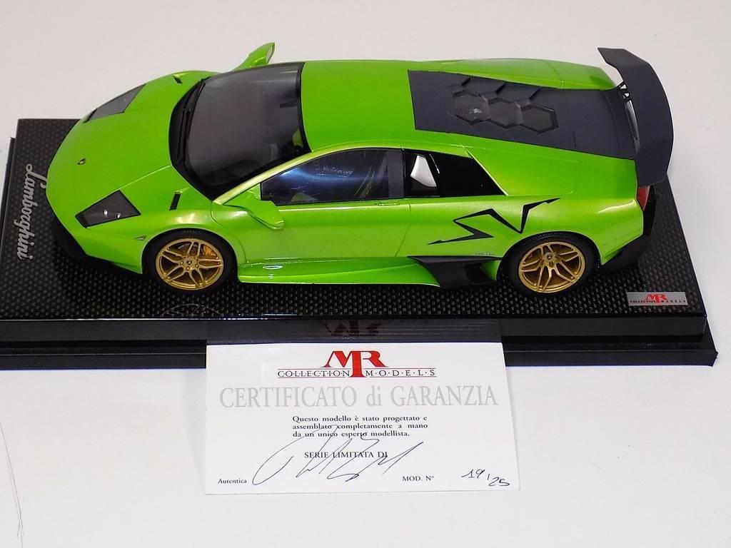 el señor Colección Colección Colección Lamborghini Murcielago Sportverein 670 itacha Verde Negro Sportverein Carbono 2bab1b