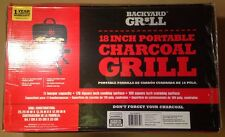 """BackYard Grill 18"""" Inch Portable Charcoal Grill 11 Burgers BY15-101-003-02"""