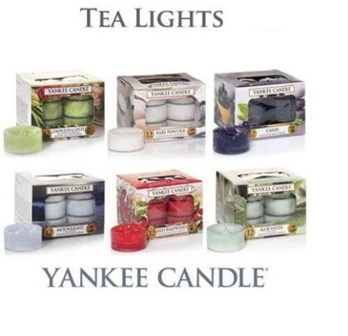 YANKEE CANDLE® LARGE,MEDIUM JAR CANDLES TEALIGHT CAR JAR VOTIVES WAX MELTS