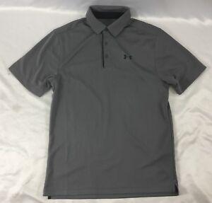 ed8551d88 Under Armour Men's Loose New Tech Golf Polo Shirt Gray 1290140 Size ...