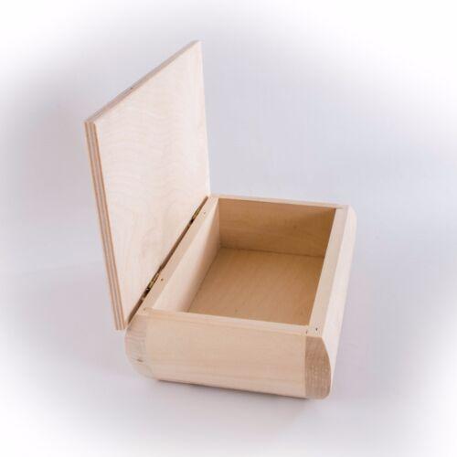 CHOICE of 100 Small /& Medium Wooden Storage Boxes Memory Keepsake Chest Box