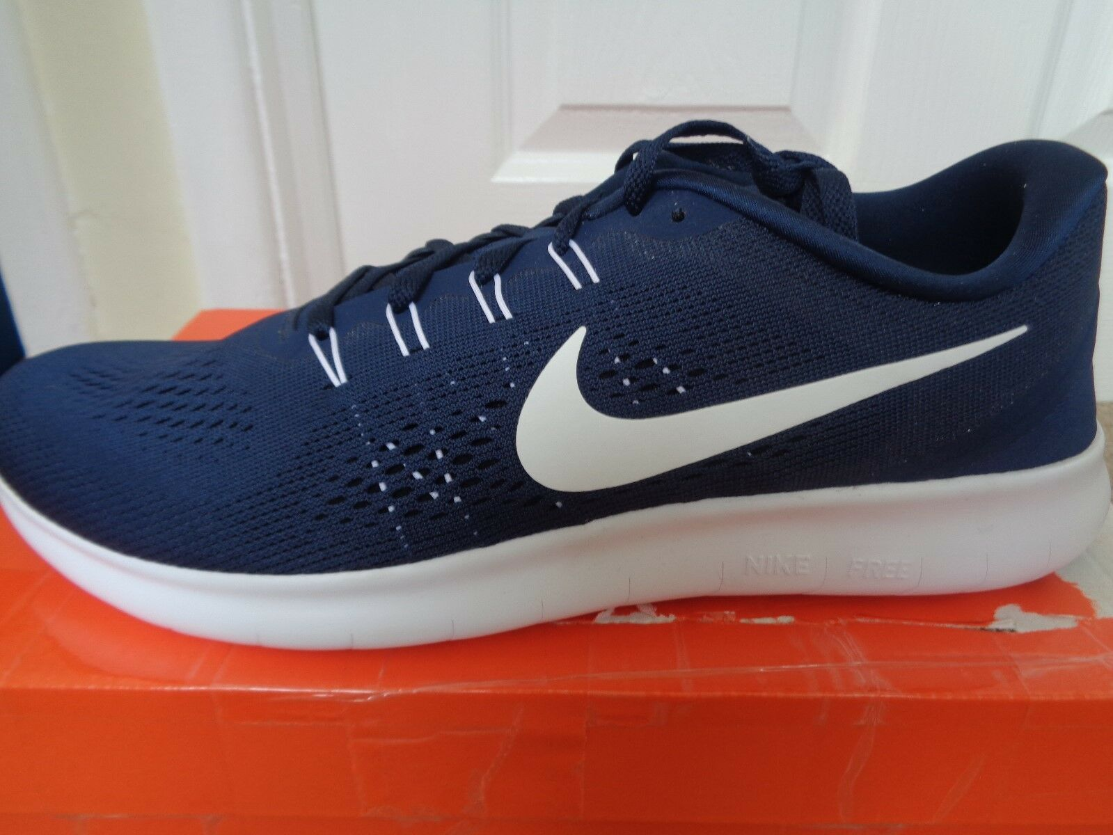 Zapatillas Free para hombre tenis Nike Free Zapatillas RN 8320188 403 nos 2018 Nuevo  Caja 262cbe