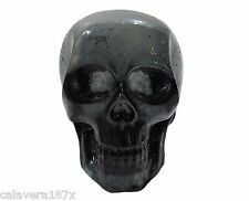 Colorful Black Clear Cast Resin Human Skull DIY Shift Knob No Skin Dead Handle