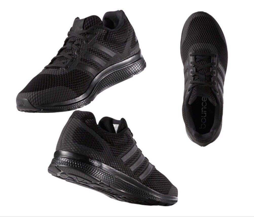 Adidas Originales Mana rebote Negro calzado B42431 para correr para hombre B42431 calzado Nuevo En Caja 5f029b