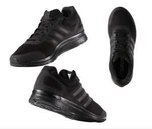 Détails sur Adidas Originaux Mana Bounce Noir Chaussures Course pour Hommes B42431 en