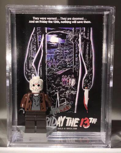 HORROR Jason Friday 13th Halloween Custom Mini Action Figure w Case /& Stand 315b