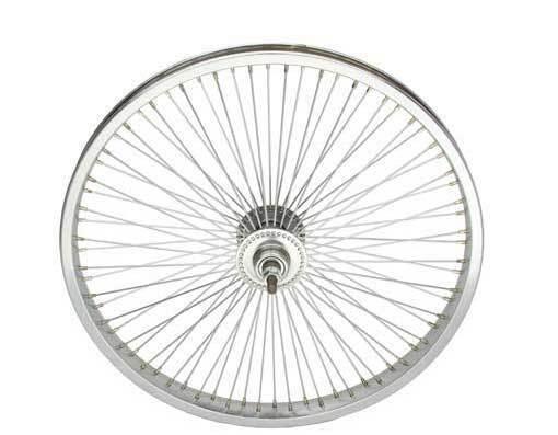 LOW RIDER LOWRIDER BIKE BICYCLE 20  72 Spoke REAR Free Wheel 14G Chrome
