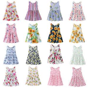 Cute-Flower-Girl-Princess-Dress-Summer-Sleeveless-Backless-O-Neck-Sweet-Clothes