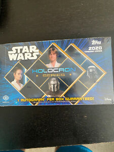 2020 Topps Star Wars Holocron Series Factory Sealed Hobby Box
