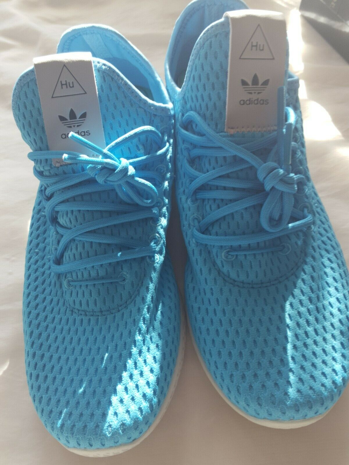 NEW MENS ADIDAS PHARRELL WILLIAMS PW TENNIS HU SNEAKERS-SIZE US 7.5 FR 39.5
