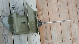 Johnson-Evinrude-Outboard-9-9HP-15-HP-Lower-Unit-1976