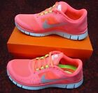 Nike Free Run 3 Coral Pink Size 4.5 Women's Running Trainers