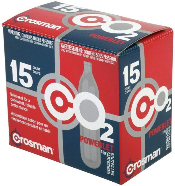 for sale online 25ct Crosman 2311 CO2 Powerlet Cartridges