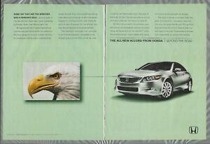2008-HONDA-ACCORD-2-page-advertisement-Bald-Eagle