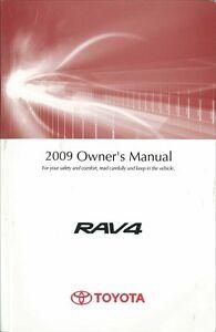 2009 toyota rav4 owners manual user guide reference operator book rh ebay com 2009 rav4 owners manual pdf 2009 toyota rav4 service manual pdf