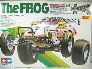 Tamiya-1-10-R-C-FROG-w-ESC-Off-Road-Racer-Buggy-Re-issued-58354-NIB