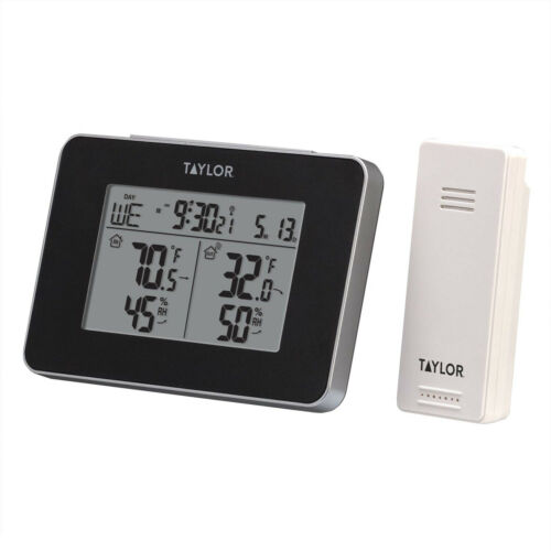 Wireless Digital Weather Station Indoor Outdoor Thermometer and Humidity Sensor
