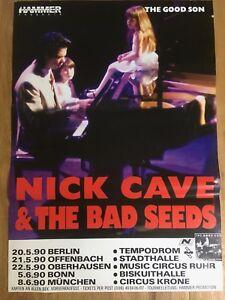 Nick-Cave-Original-Deutschland-Tournee-Plakat-1990-The-Good-Son