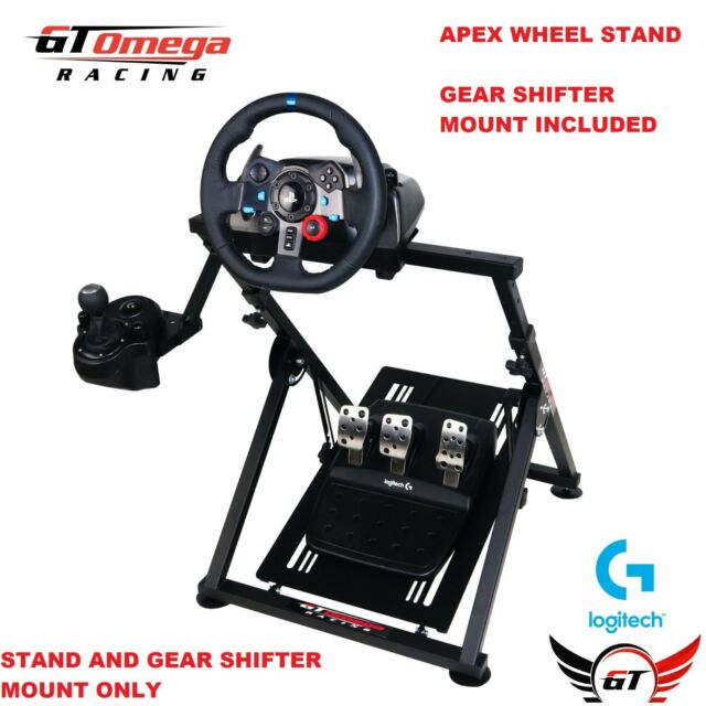 679f50000bc GT OMEGA RACING APEX STEERING WHEEL STAND SUITABLE FOR LOGITECH G29 GAMING