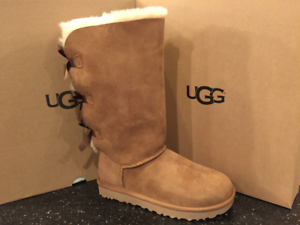 Details about UGG AUSTRALIA WOMENS BAILEY BOW TALL II BOOT Chestnut 1016434
