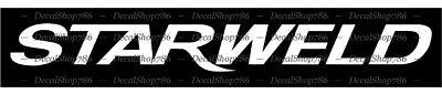 STARWELD Boats Outdoor Sports CAR//SUV Vinyl Die-Cut Peel N/' Stick Decals