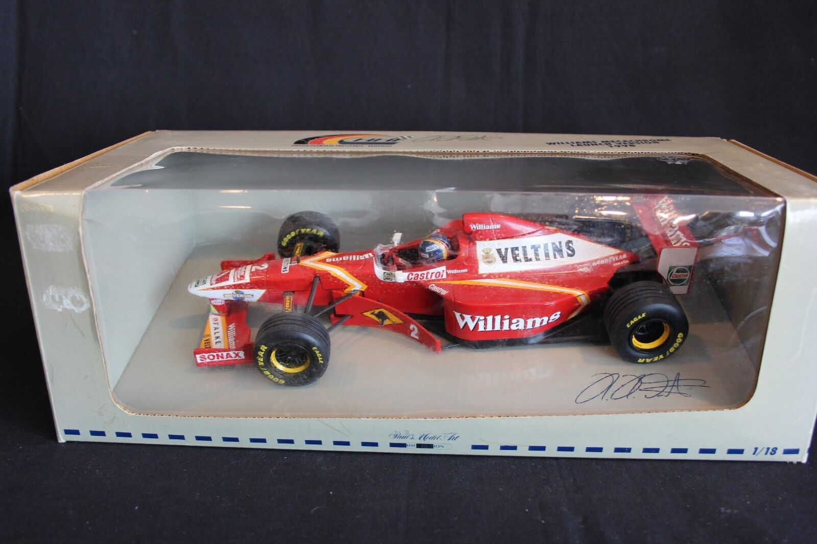 Minichamps Williams Mecachrome Launch car 1998 1 1 1 18 Heinz-Harald Frentzen 4408c8