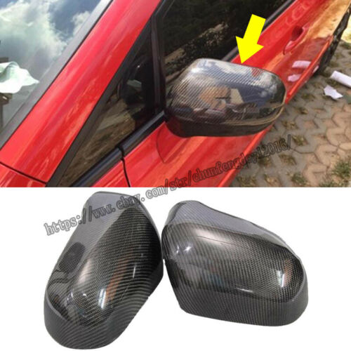 Fit For Honda CIVIC 2007-2011 Real carbon fiber Side Rearview Mirror Cover Trim